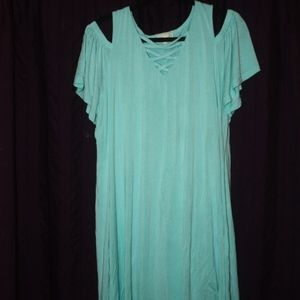 Simply Southern Cold Shoulder Dress XXL